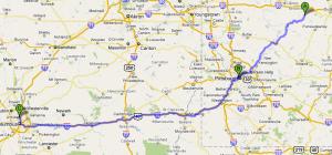 East Stanton to Columbus