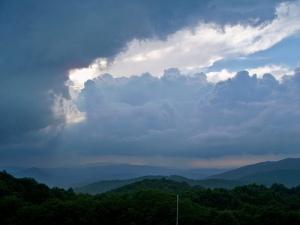 Storm in the Blue Ridge